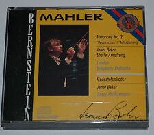 2 CD BOX/MAHLER/SYMPHONY 2/BERNSTEIN/BAKER/ARMSTRONG/CBS M2K 42195