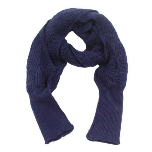 Unisex Autumn Winter Knit Warm Scarves with Sleeve Shawls Wraps Neck Warmer TN2F