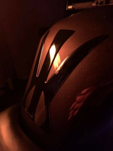 Motorrad Tankpad nach Wunsch freie Farb-//Größen-//Logo-//Formenwahl 3D-Doming