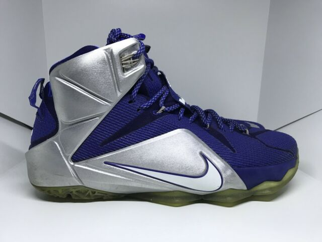 official photos 7f090 05ef8 Nike LeBron James XII 12 What If Dallas Cowboys Royal Blue Size 12 - 684593  410