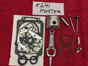 Details about 10HP ENGINE MASTER REBUILD KIT FOR KOHLER K241 and M10  w/valves and tune up
