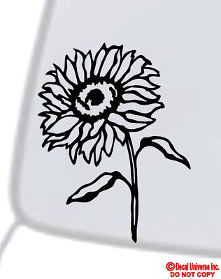 DAISY FLOWER Vinyl Decal Sticker Car Window Wall Bumper Cute Love Pretty Funny