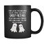 Ghost Friends Mug Funny Birthday Ceramic Mug Coffee Cup Gift For Men Women