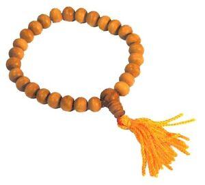 Bracelet Mala Perles Bois de Santal