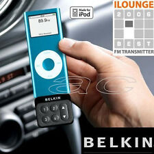 Belkin Car Radio FM Wireless Transmitter For iPod Nano Chromatic 2G 3G 4G 5G