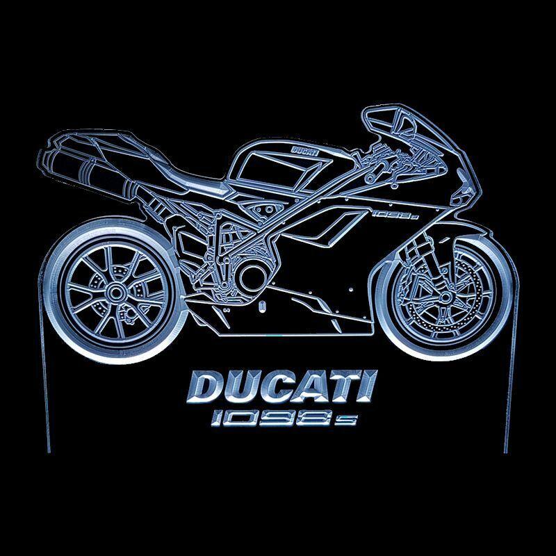 DUCATI 1098S - ACRYLIC LED SIGN