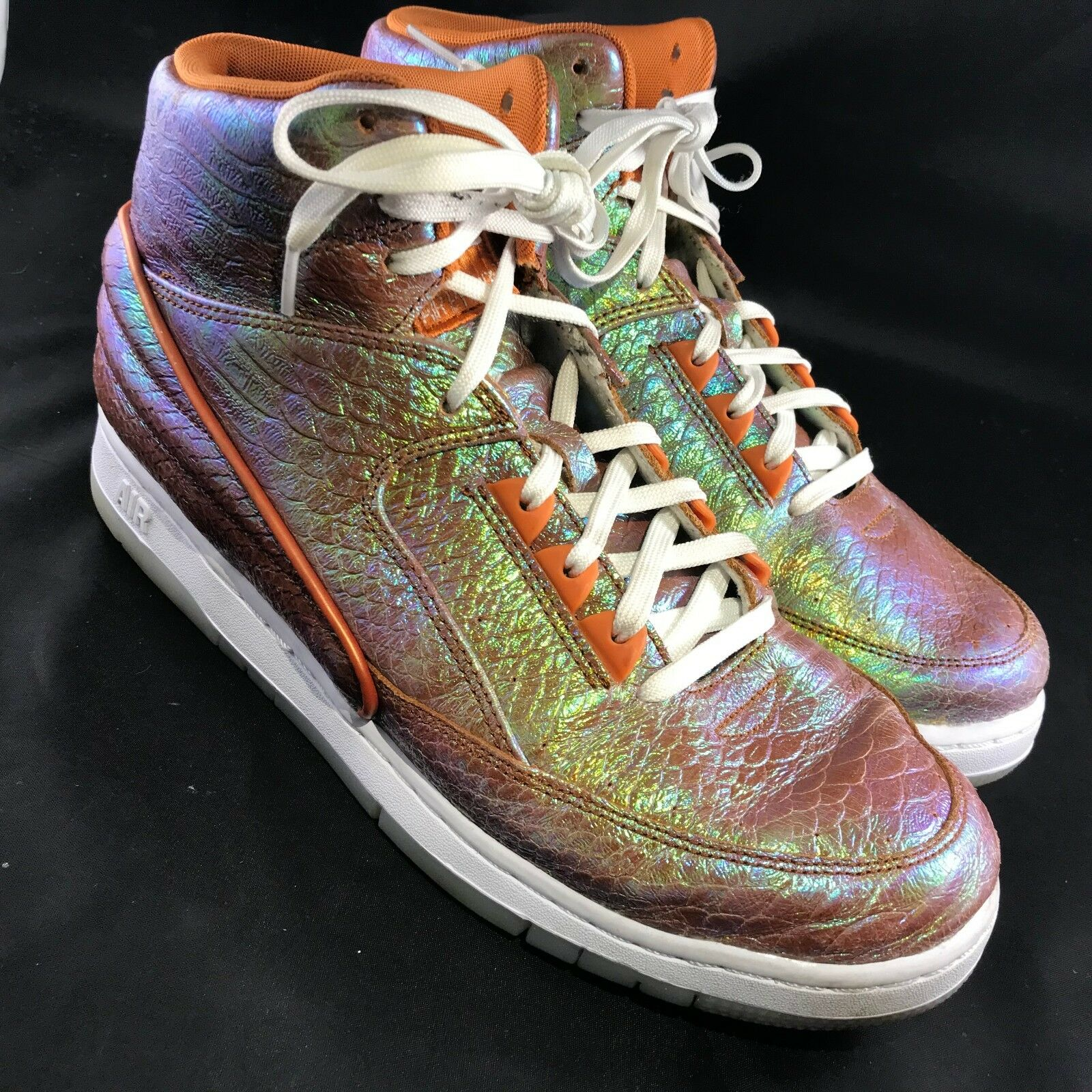 Nike Air Python Premium Iridescent shoes, Metallic Tawny- Tawny- Tawny- Sz 10 (705066-202) d1783d