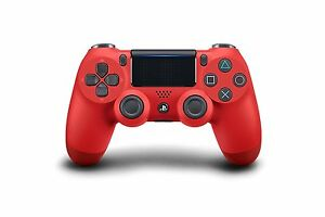 Sony Dualshock 4 Wireless Controller for PS4 Playstation 4 Red Magma CUH-ZCT2U