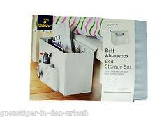 TCM Tchibo Bettablage Bett Ablagebox zum Einhängen / Aufstellen Zeitungsständer
