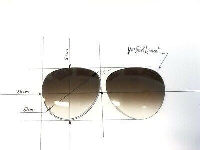 Abile Vintage Yves Saint Laurent Pilota Occhiali Da Sole Lenti Di Ricambio Originale-mostra Il Titolo Originale