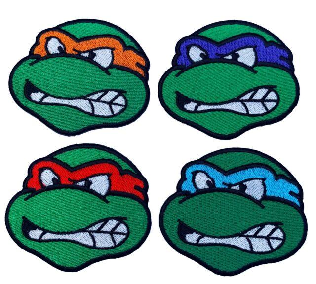Cartoon Teenage Mutant Ninja Turtles Patch Iron on sew on-NP7