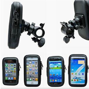Motorcycle-Bike-Handlebar-Mount-Holder-Waterproof-bag-Case-For-iPhone-Samung-GPS
