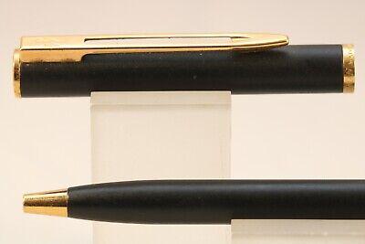 Parker Inflection Lacquered Black Rollerball Pen GT c2001 Vintage
