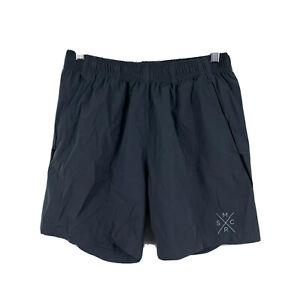Muscle Republic Mens Gym Shorts Size Medium Grey Elastic Waist Pockets