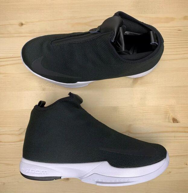 Nike Zoom Kobe Icon Men's Basketball Shoes Black White 818583-001 Size 8.5