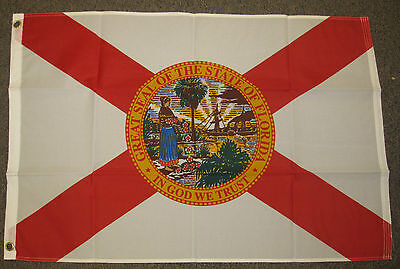 2/'x3/' Florida US State Flag Outdoor Banner Pennant St Andrew/'s Cross Seal 2x3