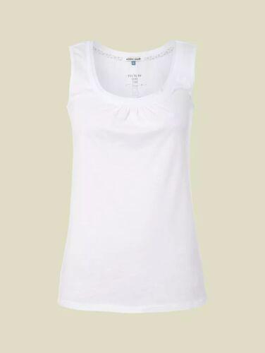 WHITE STUFF Vest Top Summer Lana Lulu peach navy white 6 colours 100/% Cotton
