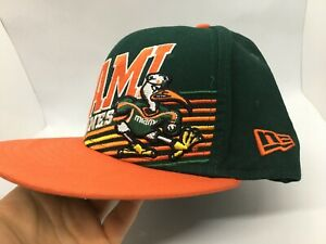 Miami-Hurricanes-Snapback-Hat-New-Era-Hat-Cap-Canes