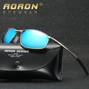Men/'s Driving Mirrored Glasses Retro Polarized Sunglasses Outdoor Sports Eyewear
