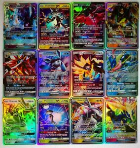 Hot-Pokemon-TCG-70-FLASH-CARD-LOT-RARE-70PCS-GX-CARDS-NO-REPEAT