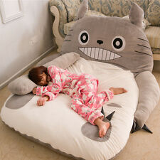 70*90'' Huge Giant Totoro Bed Carpet Tatami Mattress Sofa Filled Xmas Gift Doll