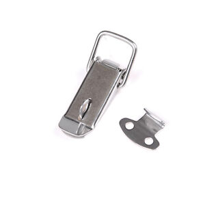 J106-Cabinet-Box-Spring-Loaded-Latch-Toggle-Locks-Hasp-For-Sliding-Door-Window-F