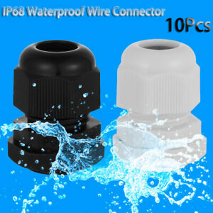 Cable Gland  PG7 PG9 PG11 PG13.5 PG16 PG19 Wire Connector IP68 Waterproof