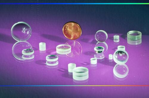 25 lentes ópticos Ø 5.0-20.0 mm convexo tipo hqo-B