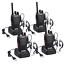 Proster Talkie Walkie 16 canaux avec voix Rapide Rechargeable émetteur Récepteur 2