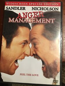 Anger Management Dvd 2003 Widescreen Special Edition 43396100374 Ebay