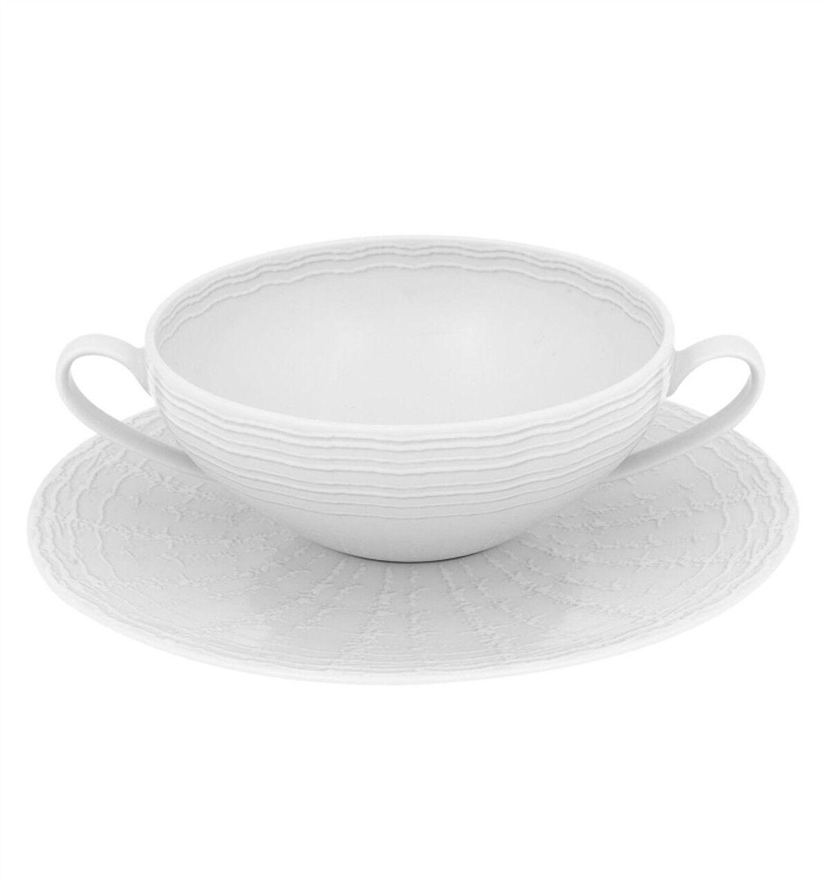 Vista Alegre Mar Consomme Cup & Saucer - Set of 8