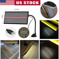 Pdr Tool Led Line Board Paintless Hail Removal Usb Reflector Car Dent Repair Kit