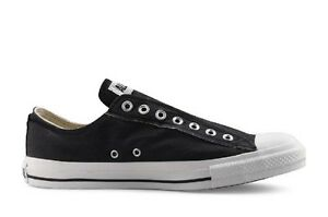 a8c80075314d Converse Chuck Taylor All Star Slip On Black Low Top Sneaker Size ...