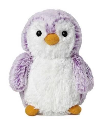 "6"" Penguin PomPom Violet Purple Aurora Plush Stuffed Animal Toy Sealife 09822"