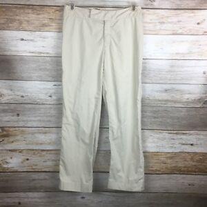 BANANA-REPUBLIC-Women-HARRISON-STRETCH-Sz-6-Light-Beige-Trouser-Chino-Pants