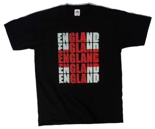 England flag St George cross St George/'s Day mens black t shirt