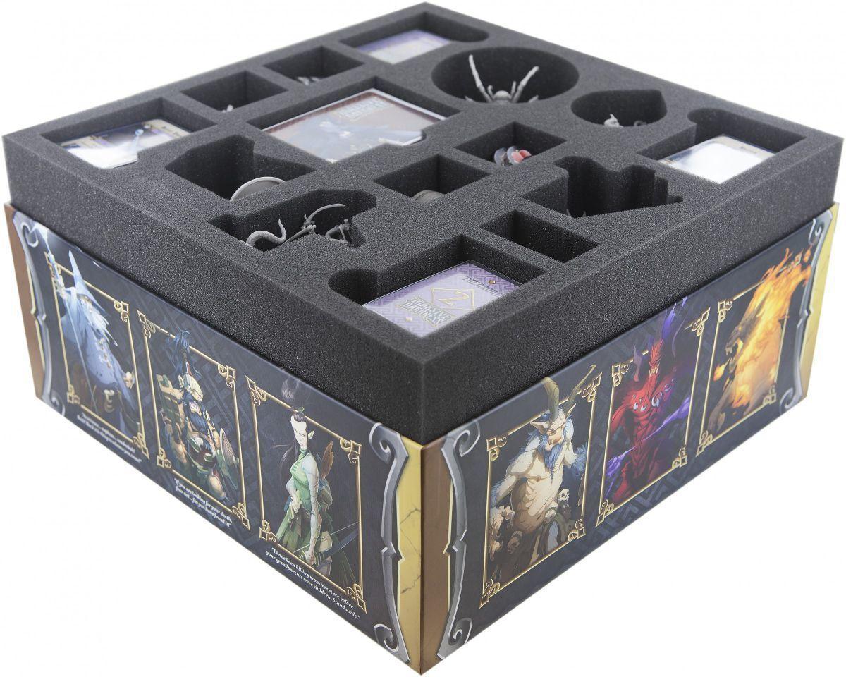 Feldherr Foam Inserts Set for Solid Darkness Board Game Foam