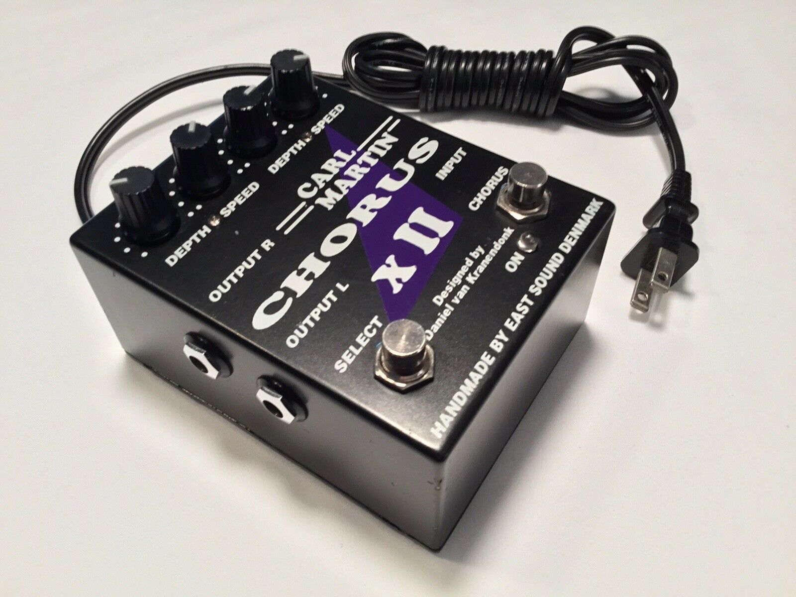 CARL MARTIN Dual STEREO Chorus XII Effects Pedal Handmade By East Sound CLEAN