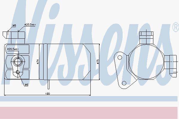 NISSENS 95432 Secador Aire Acondicionado