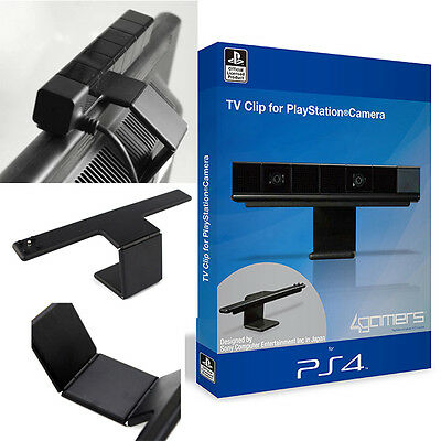 TV Camera Holder PS4 Adjustable Hold Clip Stand Mount For Sony Playstation 4 PS4