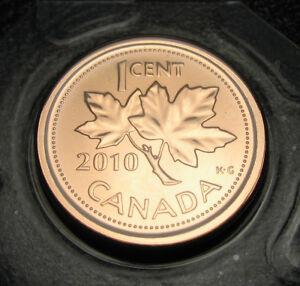 RCM-2010-1-cent-Magnetic-NBU-Proof-Like-Sealed-in-original-plastic