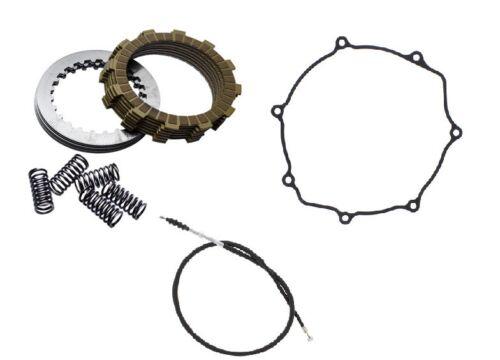 Kawasaki KX125 1997-1998 Tusk Comp Clutch Springs Gasket /& Cable