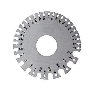 Expo 71500 swg standard wire gauge measuring metric conversion image is loading expo 71500 swg standard wire gauge measuring metric keyboard keysfo Images