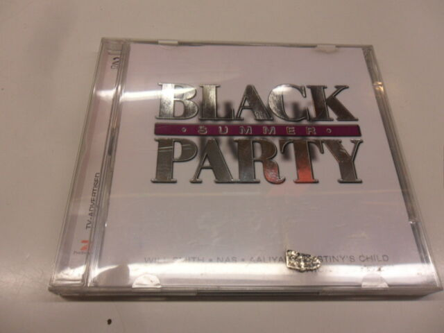 CD  Various  – Black Summer Party