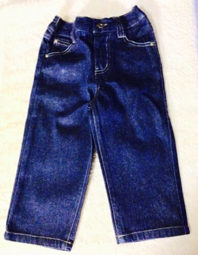 "NWOT 18 MTHS "" TUFF GUYS "" VERY CUTE DENIM JEANS FOR YOUR LITTLE ONE"