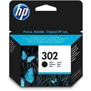New Genuine HP 302 Black Ink Cartridge for Deskjet 1110 ...