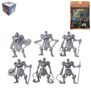 Tehnolog Skeletons 2 Ensembles de 6 pièces 55 mm échelle Fantasy Battle no painted