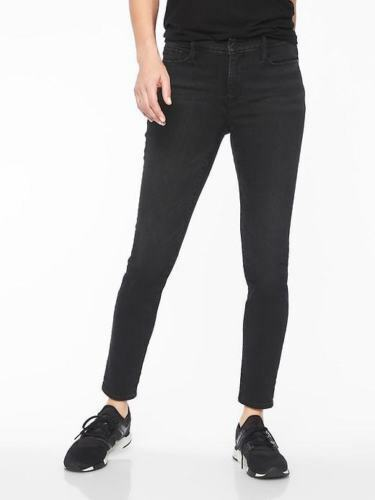 NWT ATHLETA Sculptek Skinny Jean, Carbon Wash, sz 8 Tall
