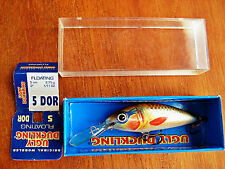 """UGLY DUCKLING Fishing Lure 2"""" floating minnow Balsa Wood Crankbait, New in Box"""