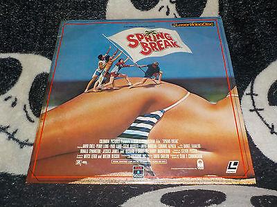 100% Wahr Spring Break Laserdisc Ld Sean S.cunningham David Knell Gratis Versand $30